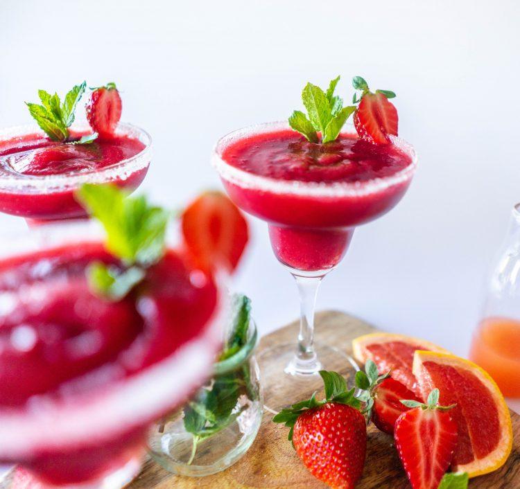 erdbeer daiquiri rezept edeka